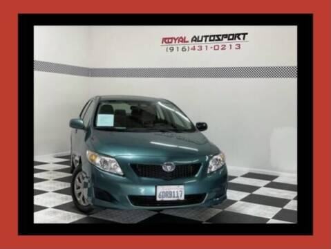 2009 Toyota Corolla for sale at Royal AutoSport in Sacramento CA