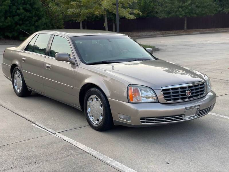 2002 Cadillac DeVille for sale at Two Brothers Auto Sales in Loganville GA