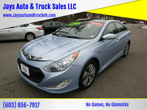2015 Hyundai Sonata Hybrid for sale at Jays Auto & Truck Sales LLC in Loudon NH