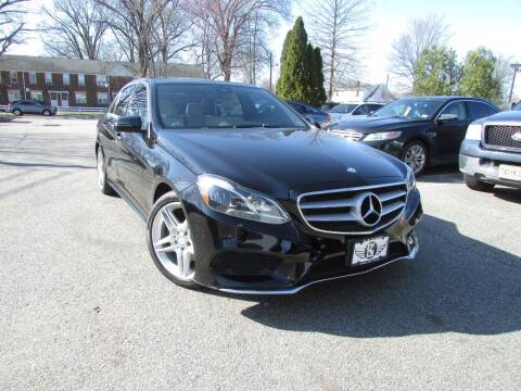 2014 Mercedes-Benz E-Class for sale at K & S Motors Corp in Linden NJ