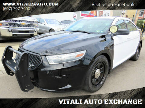 2013 Ford Taurus for sale at VITALI AUTO EXCHANGE in Johnson City NY