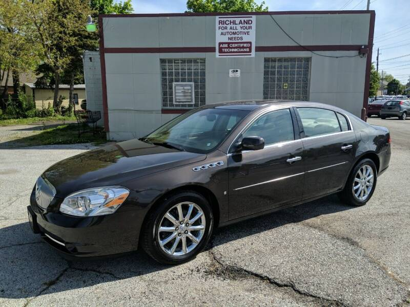 2008 Buick Lucerne for sale at Richland Motors in Cleveland OH