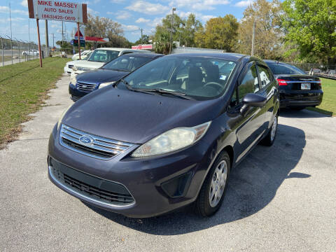 2012 Ford Fiesta for sale at Massey Auto Sales in Mulberry FL