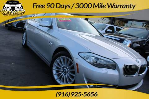 2011 BMW 5 Series for sale at West Coast Auto Sales Center in Sacramento CA