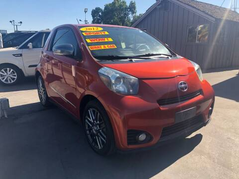 2012 Scion iQ for sale at Devine Auto Sales in Modesto CA