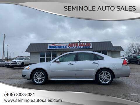 2015 Chevrolet Impala Limited for sale at Seminole Auto Sales in Seminole OK