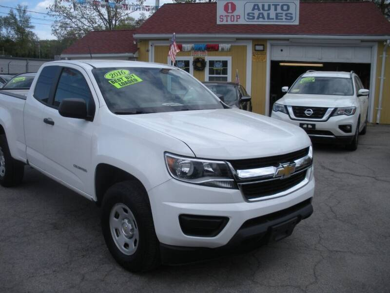 2016 Chevrolet Colorado for sale at One Stop Auto Sales in North Attleboro MA