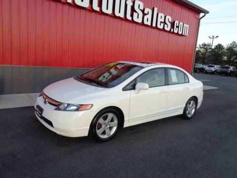 2008 Honda Civic for sale at Stout Sales in Fairborn OH