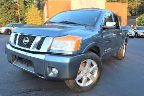 2010 Nissan Titan for sale at Atlanta Unique Auto Sales in Norcross GA