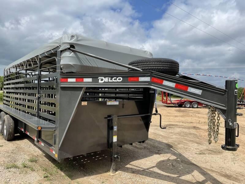 2021 DELCO  -Livestock 6.8''X 20 '- Rubbe for sale at LJD Sales in Lampasas TX