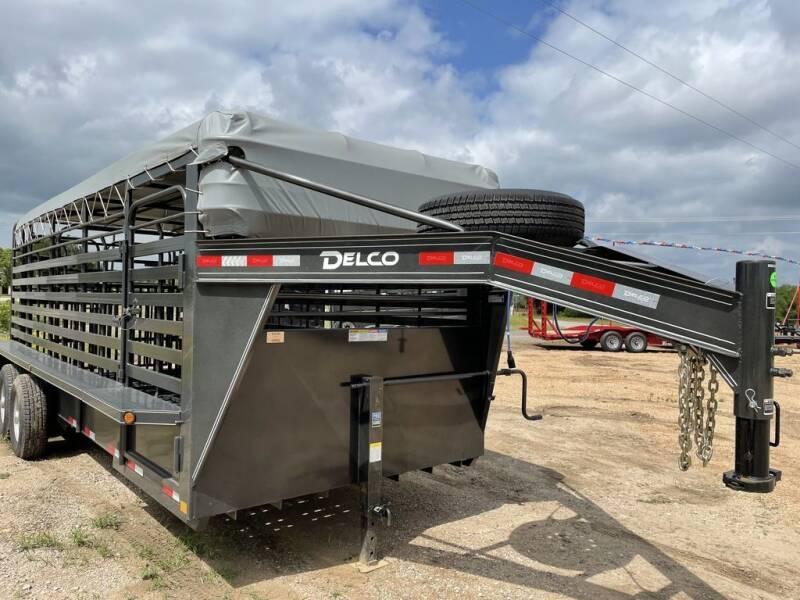 2021 DELCO  -Livestock 6.8''X 20'-Rubber  for sale at LJD Sales in Lampasas TX
