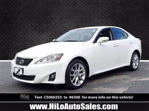 2012 Lexus IS 250 for sale at Hi-Lo Auto Sales in Frederick MD