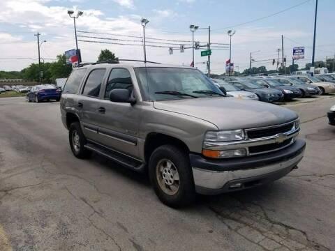 2002 Chevrolet Tahoe for sale at Royal Motors - 33 S. Byrne Rd Lot in Toledo OH