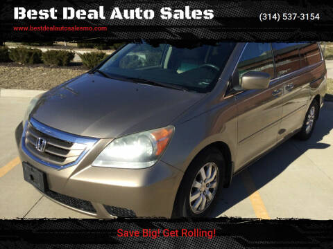 2008 Honda Odyssey for sale at Best Deal Auto Sales in Saint Charles MO