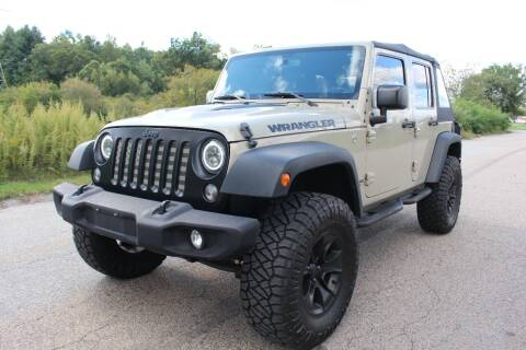 2017 Jeep Wrangler Unlimited for sale at Imotobank in Walpole MA