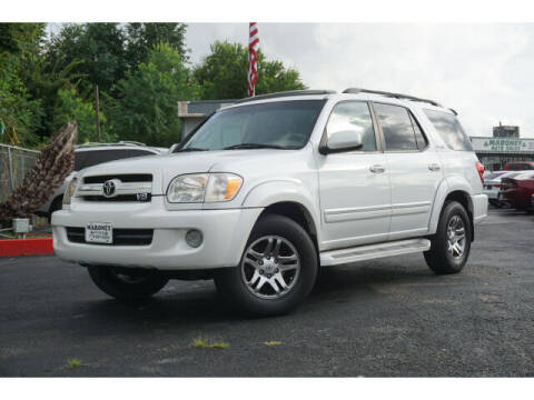 2006 Toyota Sequoia for sale at Maroney Auto Sales in Humble TX