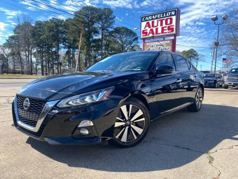 2019 Nissan Altima for sale at Carafello's Auto Sales in Norfolk VA