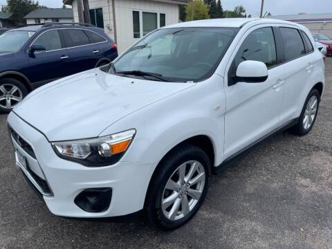 2014 Mitsubishi Outlander Sport for sale at CHRISTIAN AUTO SALES in Anoka MN