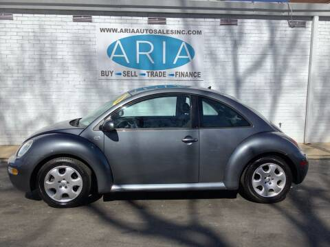 2003 Volkswagen New Beetle for sale at ARIA  AUTO  SALES in Raleigh NC