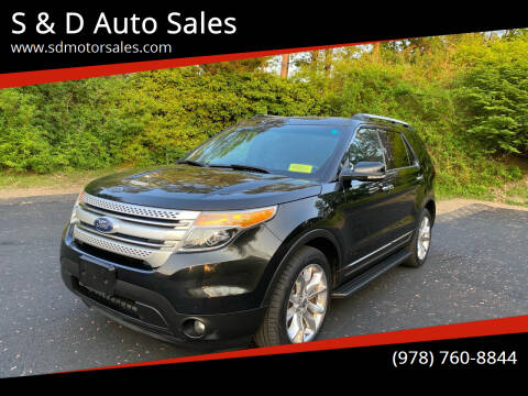 2011 Ford Explorer for sale at S & D Auto Sales in Maynard MA