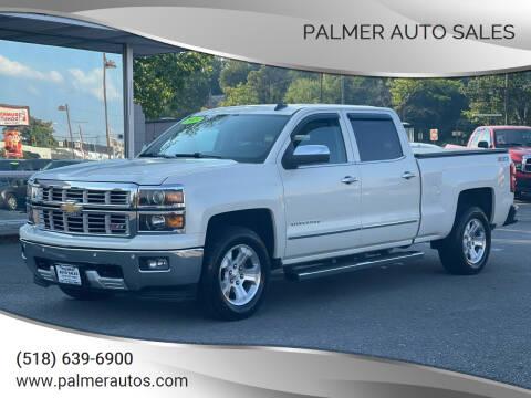 2015 Chevrolet Silverado 1500 for sale at Palmer Auto Sales in Menands NY