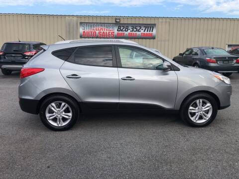 2013 Hyundai Tucson for sale at Stikeleather Auto Sales in Taylorsville NC