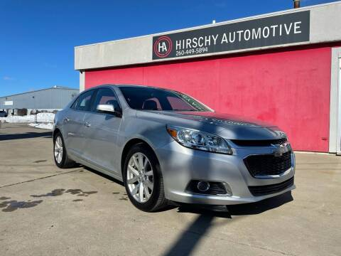 2015 Chevrolet Malibu for sale at Hirschy Automotive in Fort Wayne IN