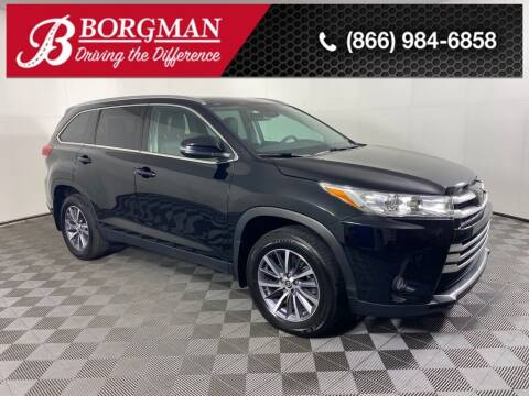 2019 Toyota Highlander for sale at BORGMAN OF HOLLAND LLC in Holland MI