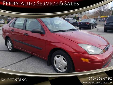 2004 Ford Focus for sale at Perry Auto Service & Sales in Shoemakersville PA