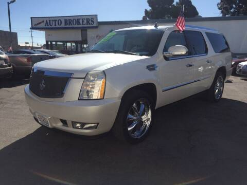 2007 Cadillac Escalade ESV for sale at Oxnard Auto Brokers in Oxnard CA