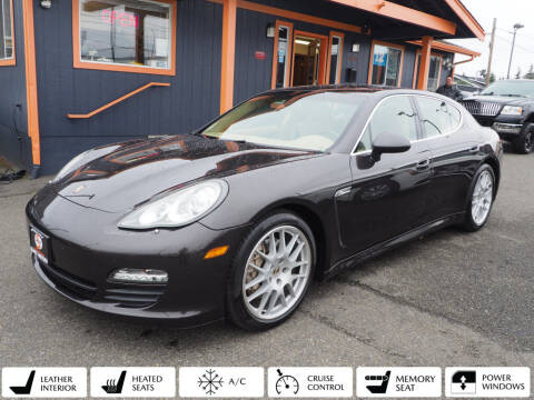 2010 Porsche Panamera for sale at Sabeti Motors in Tacoma WA