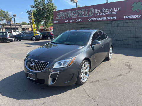 2012 Buick Regal for sale at SPRINGFIELD BROTHERS LLC in Fullerton CA