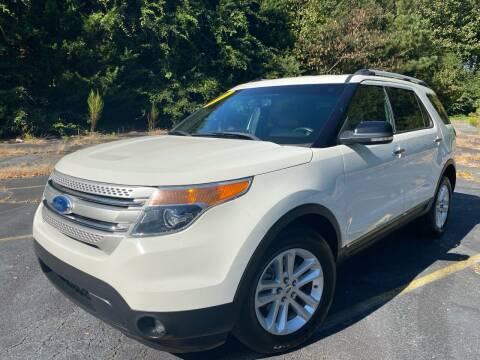 2011 Ford Explorer for sale at Peach Auto Sales in Smyrna GA