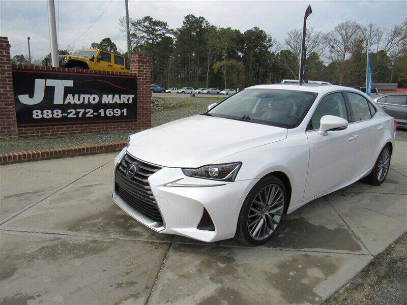 2018 Lexus IS 300 for sale at J T Auto Group in Sanford NC