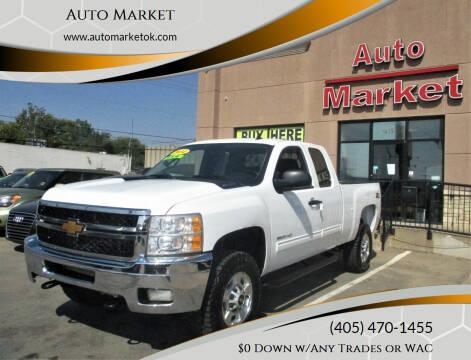 2013 Chevrolet Silverado 2500HD for sale at Auto Market in Oklahoma City OK