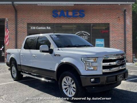 2016 Ford F-150 for sale at Michael D Stout in Cumming GA