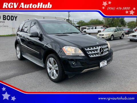 2011 Mercedes-Benz M-Class for sale at RGV AutoHub in Harlingen TX
