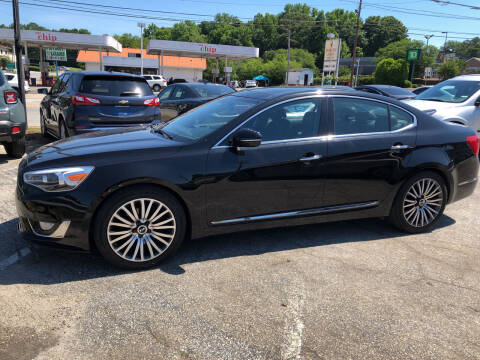2015 Kia Cadenza for sale at Penland Automotive Group in Laurens SC