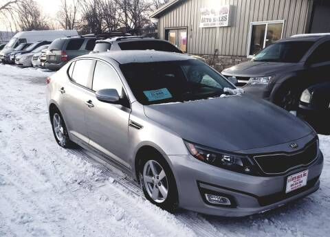 2014 Kia Optima for sale at QS Auto Sales in Sioux Falls SD