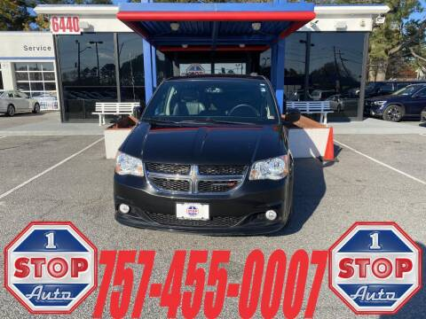 2017 Dodge Grand Caravan for sale at 1 Stop Auto in Norfolk VA