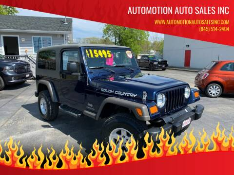 2006 Jeep Wrangler for sale at Automotion Auto Sales Inc in Kingston NY