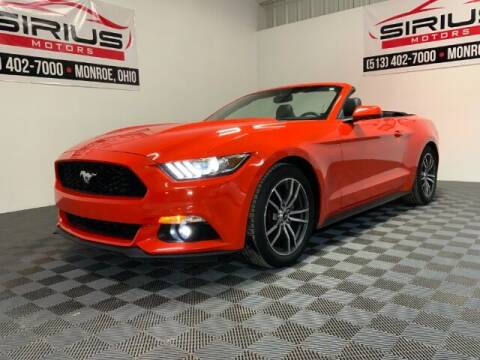 2016 Ford Mustang for sale at SIRIUS MOTORS INC in Monroe OH
