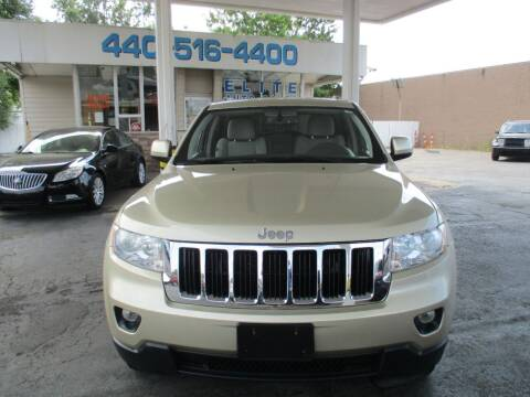 2012 Jeep Grand Cherokee for sale at Elite Auto Sales in Willowick OH