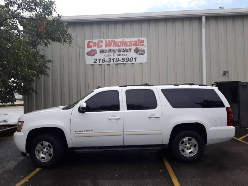 2010 Chevrolet Suburban for sale at C & C Wholesale in Cleveland OH