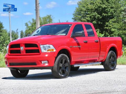 2012 RAM Ram Pickup 1500 for sale at Tonys Pre Owned Auto Sales in Kokomo IN