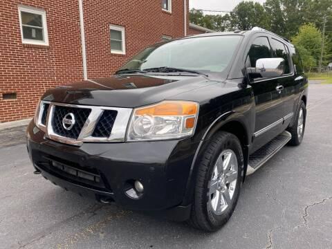 2012 Nissan Armada for sale at El Camino Auto Sales in Gainesville GA