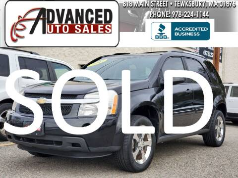 2008 Chevrolet Equinox for sale at Advanced Auto Sales in Tewksbury MA