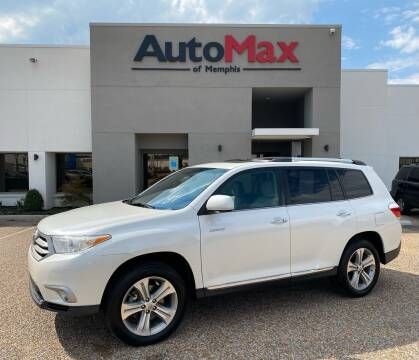 2012 Toyota Highlander for sale at AutoMax of Memphis in Memphis TN