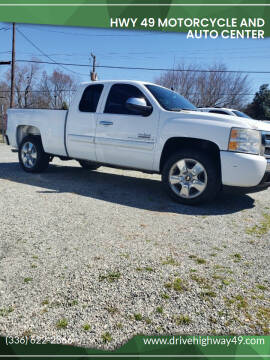 2009 Chevrolet Silverado 1500 for sale at HWY 49 MOTORCYCLE AND AUTO CENTER in Liberty NC
