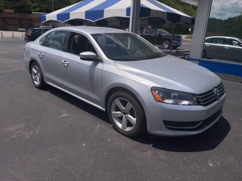 2013 Volkswagen Passat for sale at Tim Short Auto Mall 2 in Corbin KY